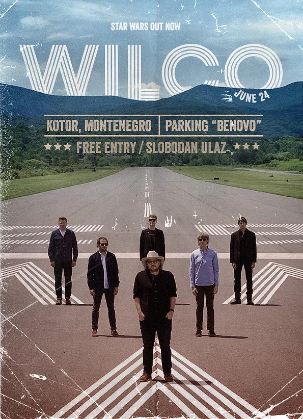 Wilco na SeaRock festivalu 2016.