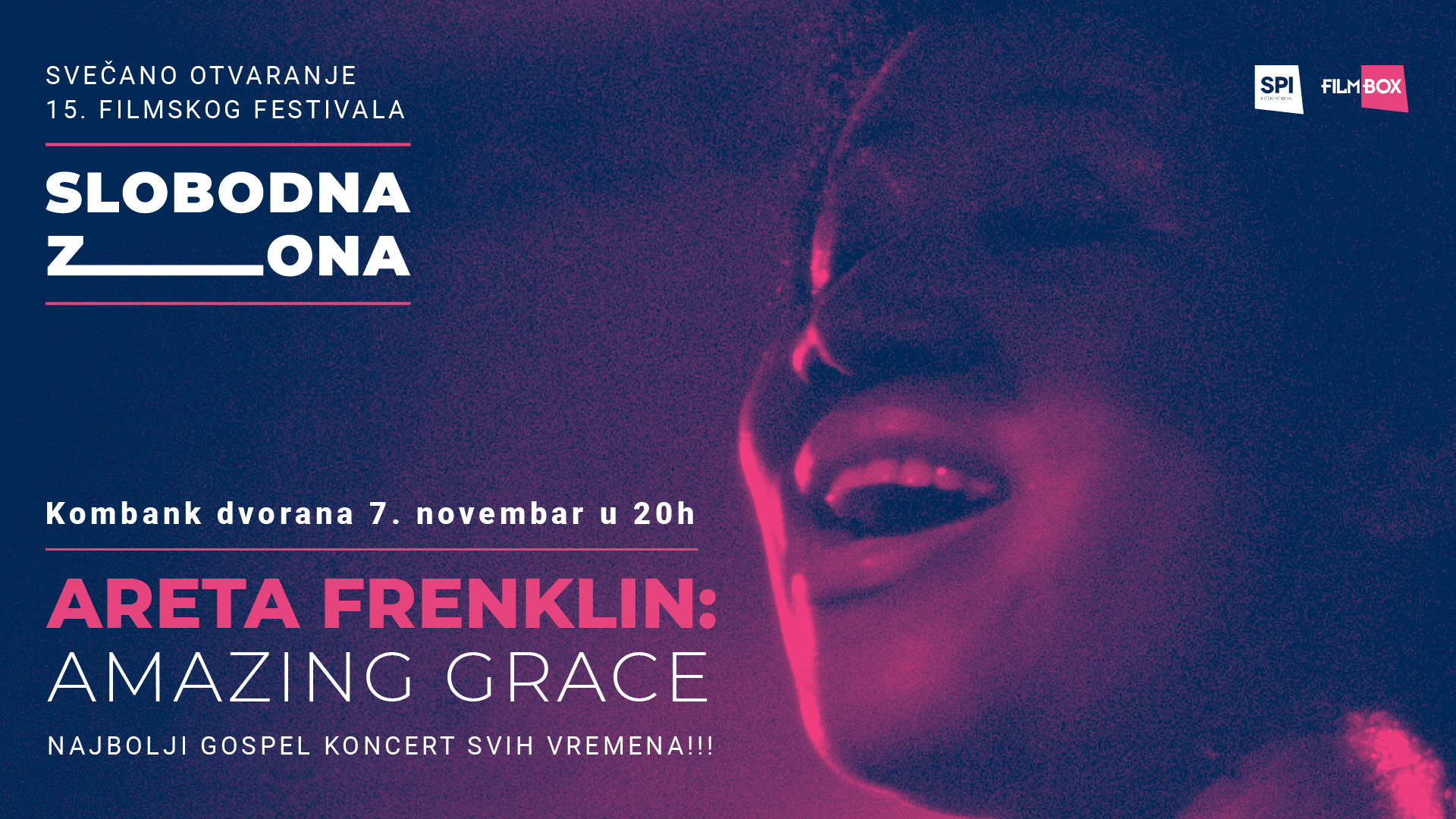 15. izdanje filmskog festivala Slobodna zona