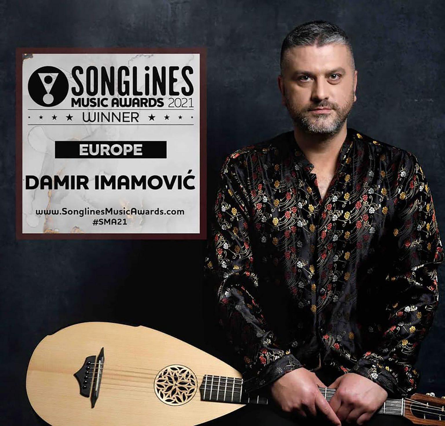 Damir Imamović proglašen najboljim evropskim umetnikom